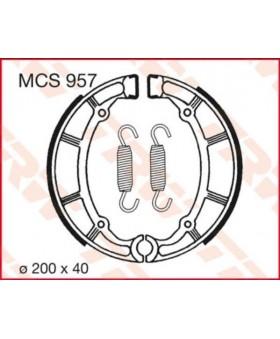 Paire de machoires arrières LUCAS MCS957 chez Motokristen