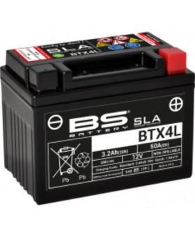 Batterie BS BTX4L pour Honda C90 Cub 1985-2003 chez Motokristen