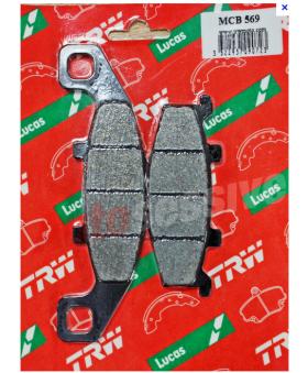 Plaquettes de Frein TRW Lucas MCB569 chez Motokristen