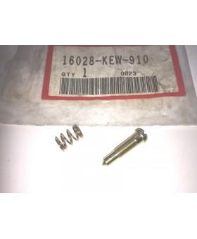 Vis de réglage de ralenti pièce d'origine pour Honda XL125, CG125 et CA125 chez Motokristen