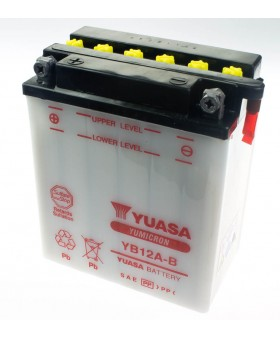 Batterie Yuasa YB12A-B pour Honda chez Motokristen