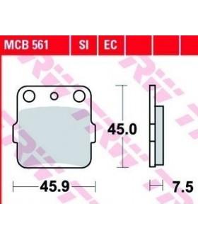 Plaquettes de freins composite TRW Lucas MCB561 chez Motokristen