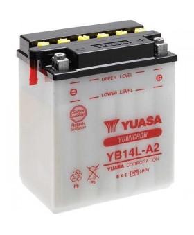 Batterie Yuasa YB14L-A2 chez Motokristen