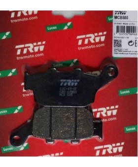 Plaquettes de freins composite TRW Lucas MCB585 chez Motokristen