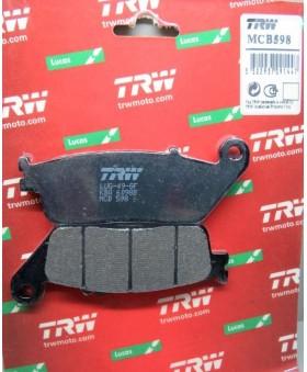 Plaquettes de freins composite TRW Lucas MCB598 chez Motokristen